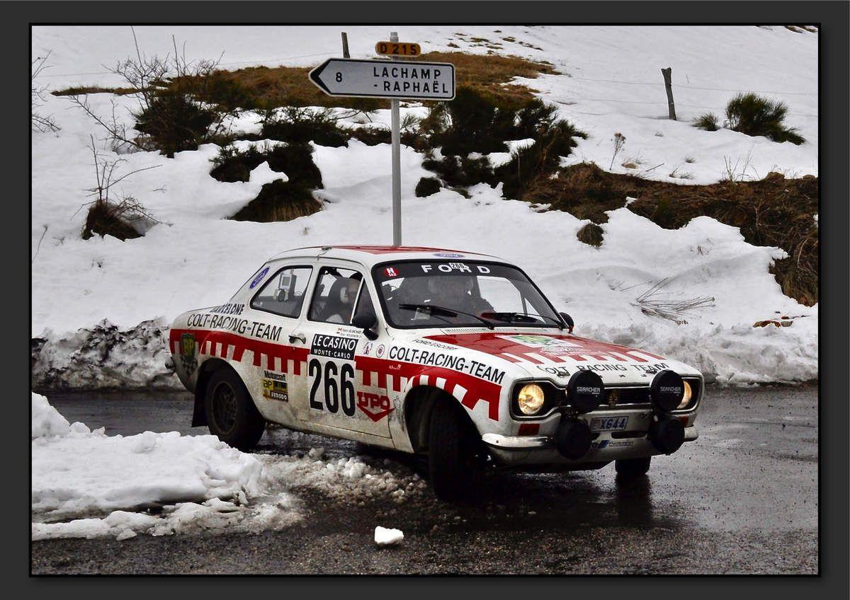 Didier MOURENON (MCO) Pierre-Emmanuel BESSONE (MCO) - Ford Escort RS 2000 MKI de 1975