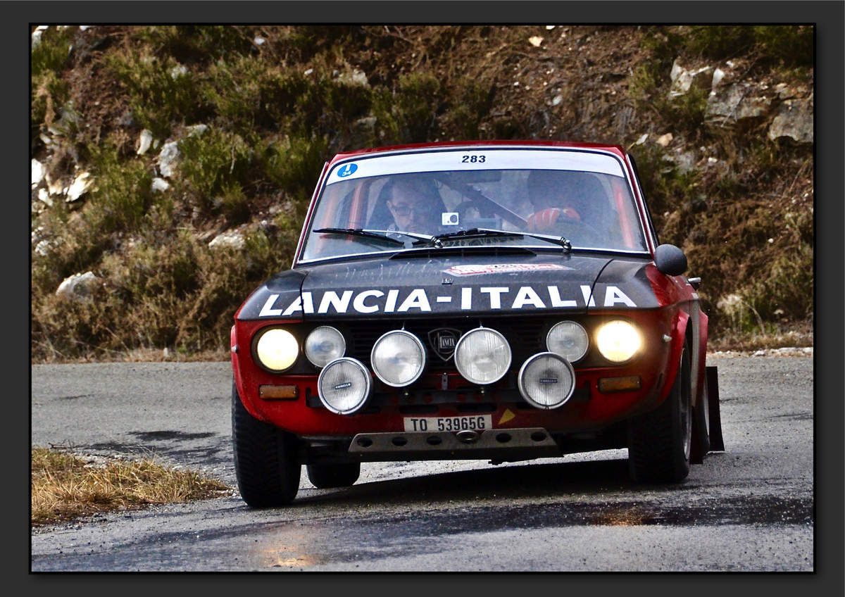 Enrico BERTOLINI (ITA) Daniele BERTOLINI (ITA) - Lancia Fulvia Coupé 1300 S de 1972