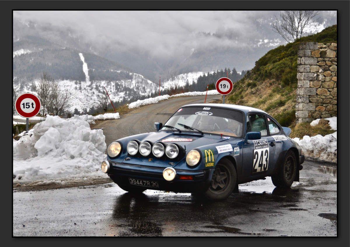 Alex MAZAURIC (FRA) Michel CAMINADA (FRA) - Porsche 911 SC de 1978