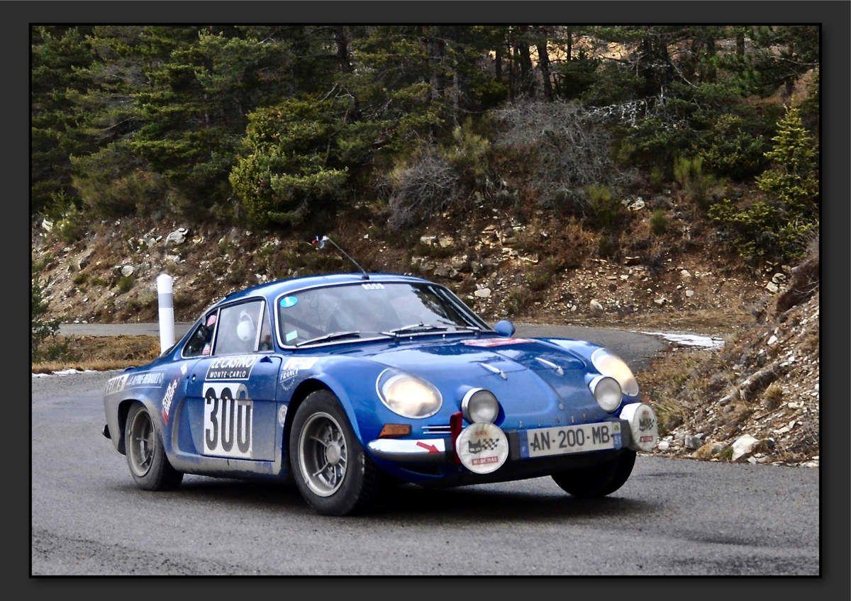 Xavier JEUNIER (FRA) Emmanuel HACQUART (FRA) - Renault Alpine A110 1300 de 1976