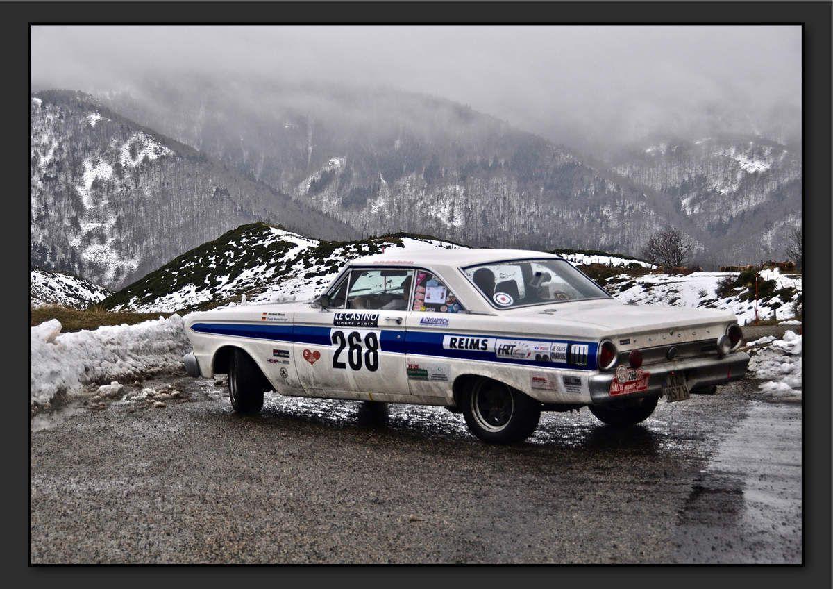 Michael BRUNS (DEU) Frank WESTENBURGER (DEU) - Ford Falcon Sprint de 1964 - 4ème classement final