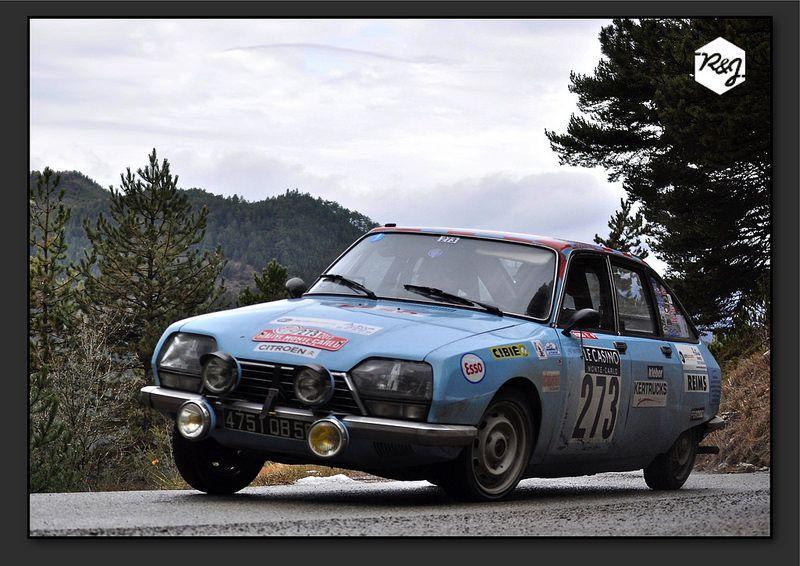 Philippe ROBIC et Jean-Marc ROBIC - Citroën GS de 1973 - Team du RAC