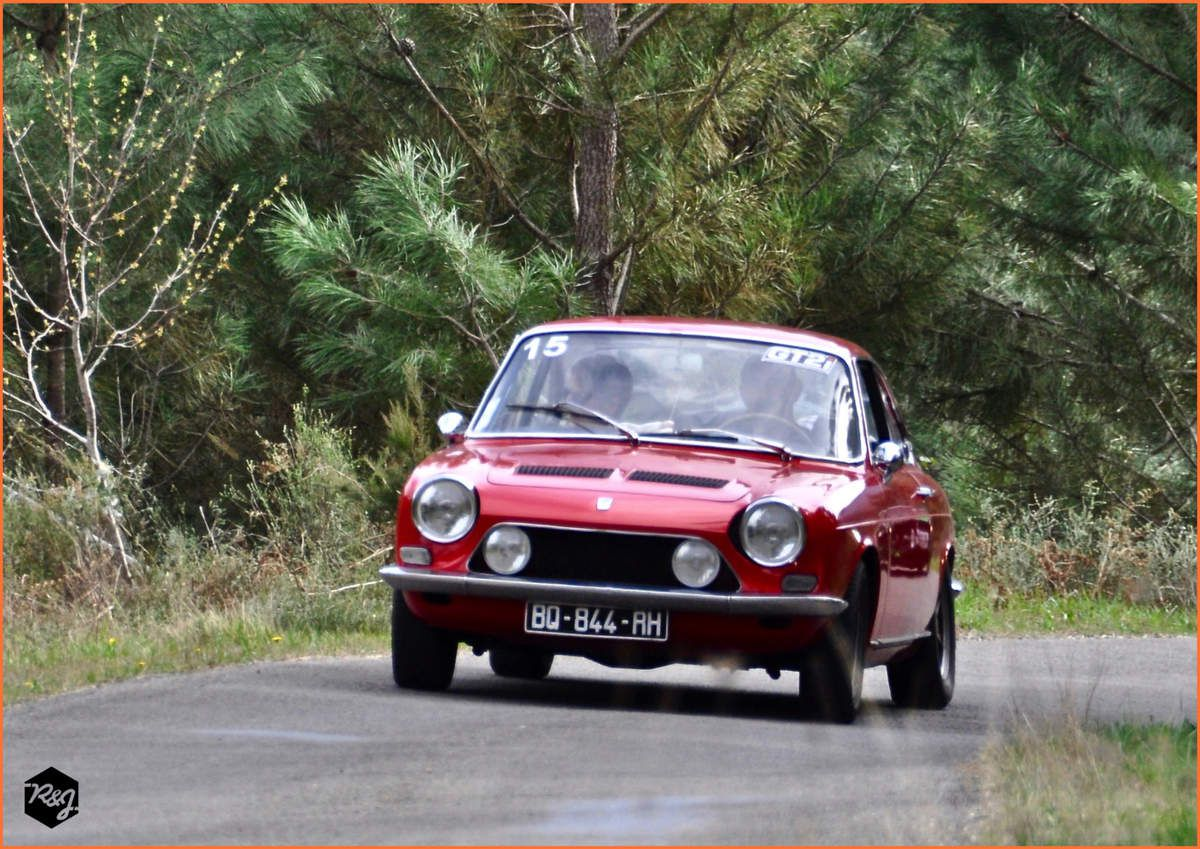 15 - Gilbert LARGUIER - Simca 1200S