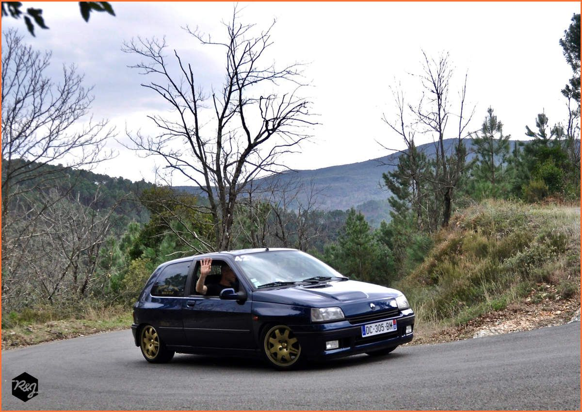 42 - Stéphane DAVID - Renault Clio Williams (1993)