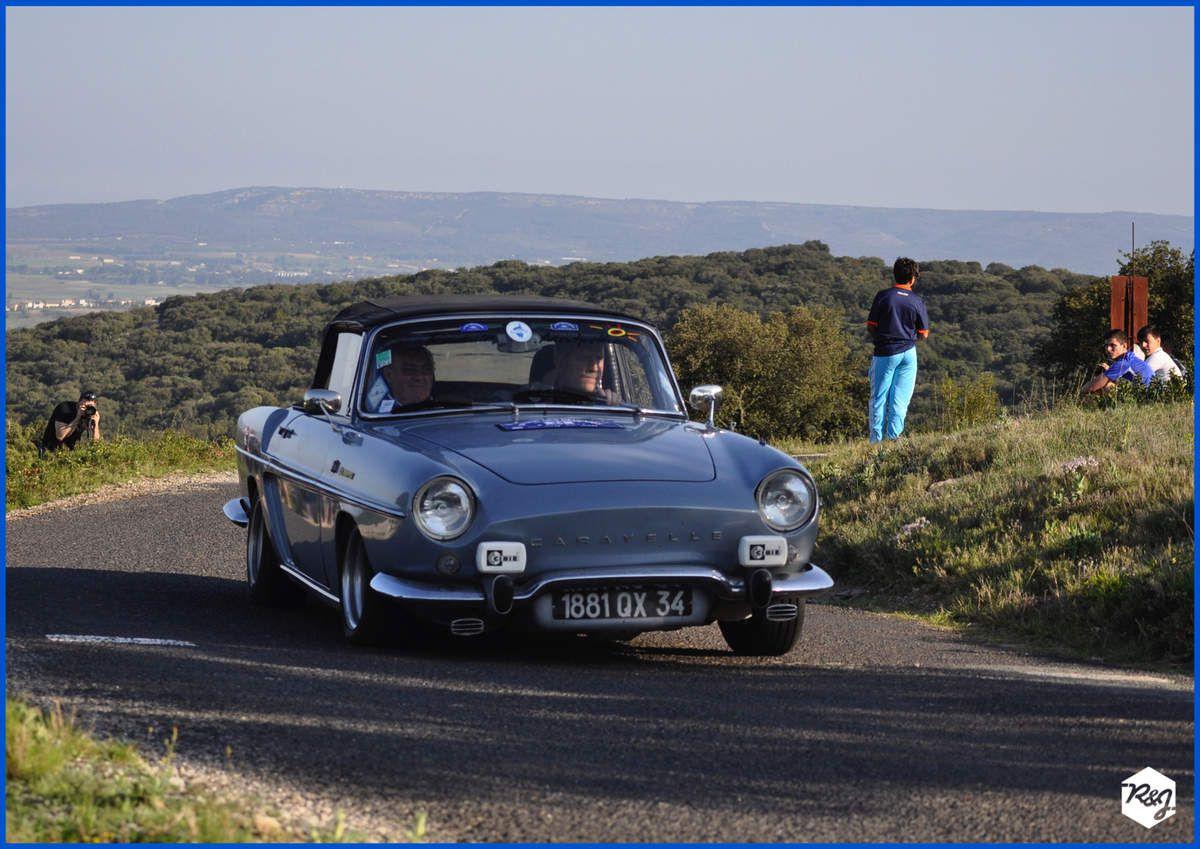 Bernard PEYRONNET et Alain MENARD - Renault Caravelle de 1964