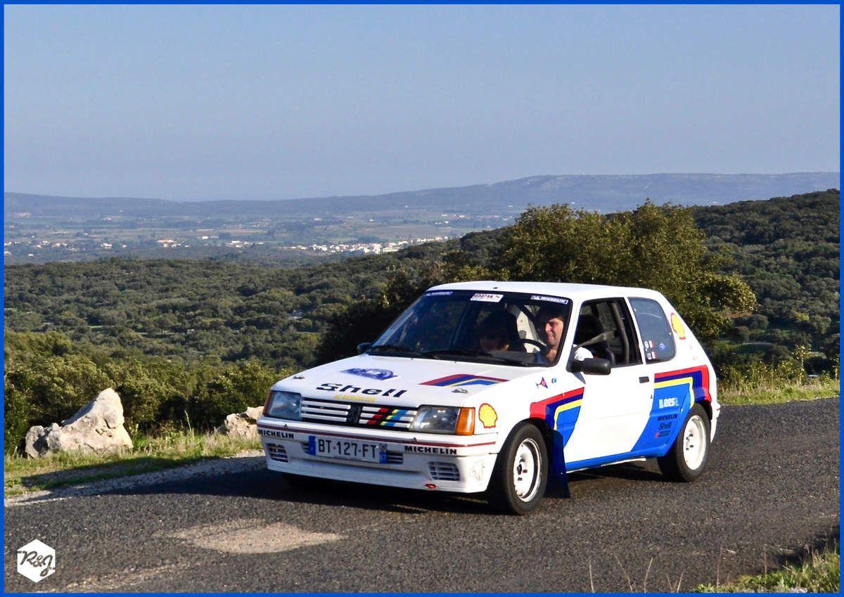 Pascal SERMET et Patricia GONDRES - Peugeot 205 Rallye de 1988