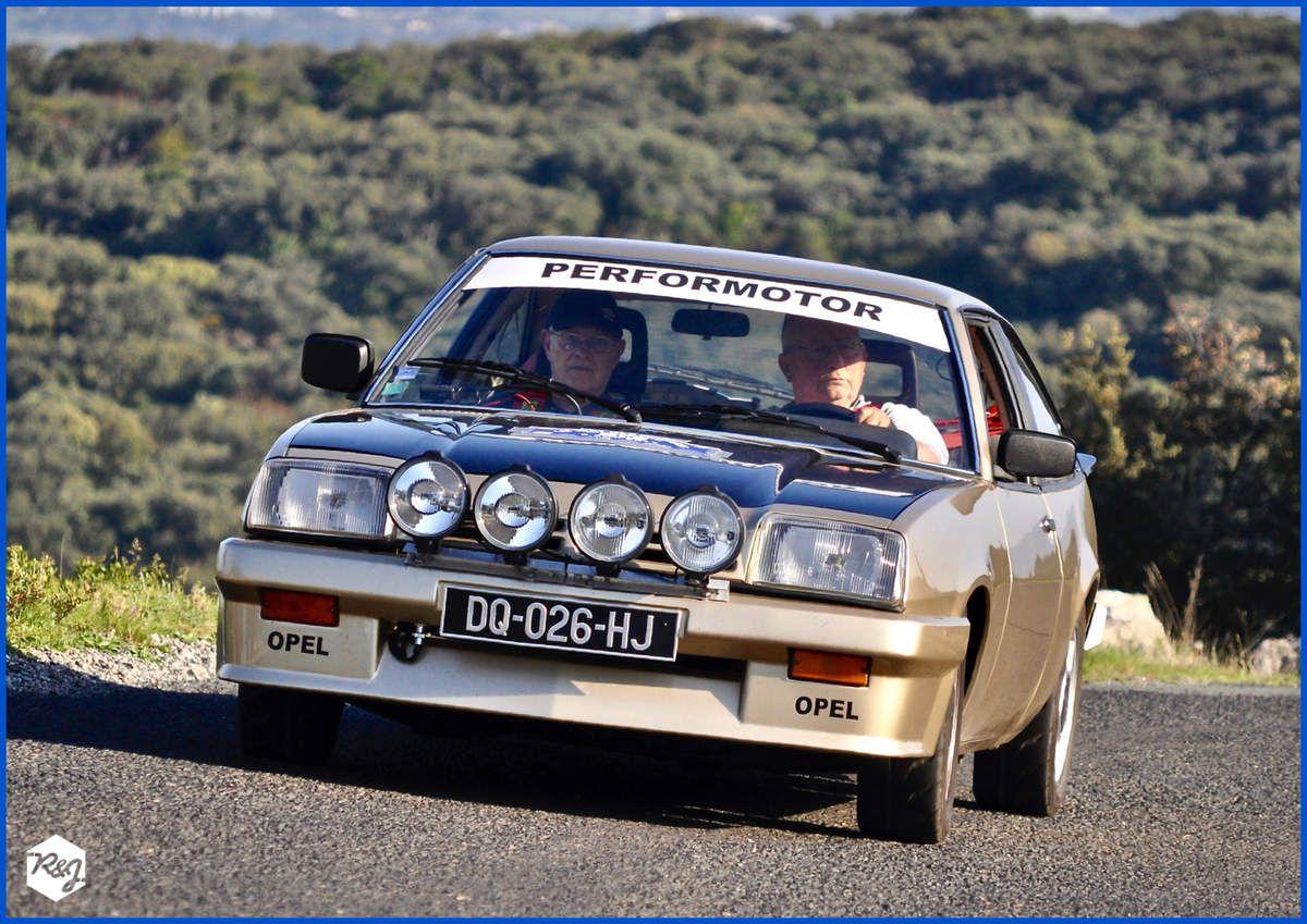 Jean-Louis AMPHOUX et Daniel REBOUL - Opel Manta de 1983
