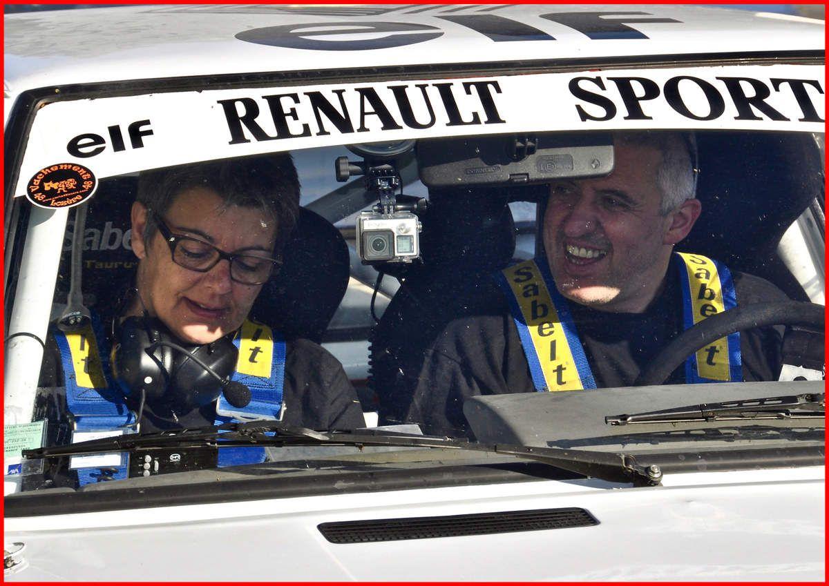 Jean Charles BRUNEL et Chrystel SEGURA - Renault 11 Turbo de 1984