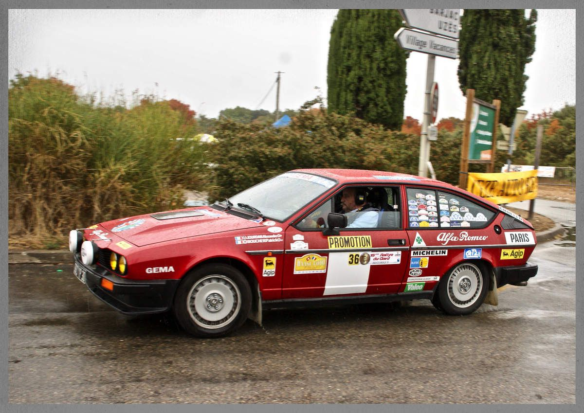 Alexandre JOURDAN et Patrick BOUCHER - Alfa Romeo Alfetta GTV6 (1981) - Team Juvenal
