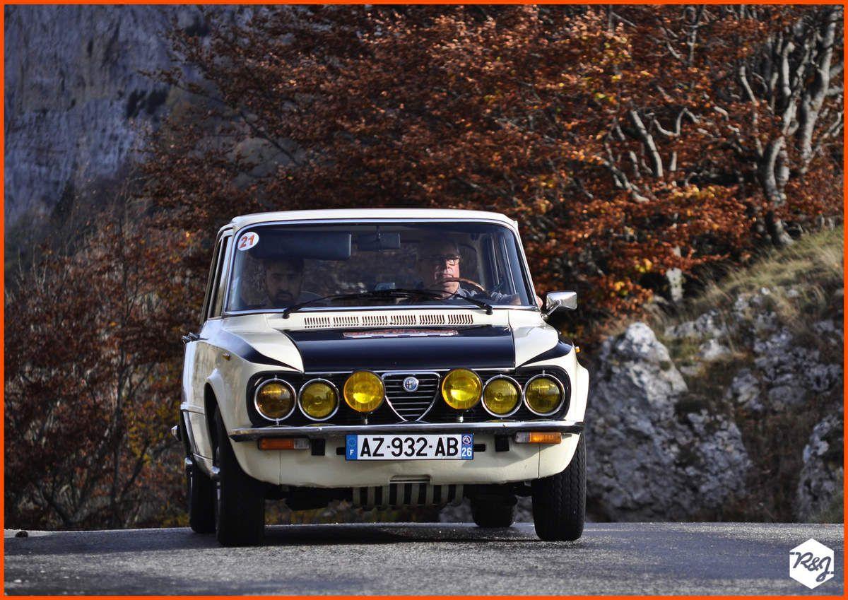 Denis GOUDOU et Christophe GOUDOU - Alfa Romeo Giulia Super (1978)