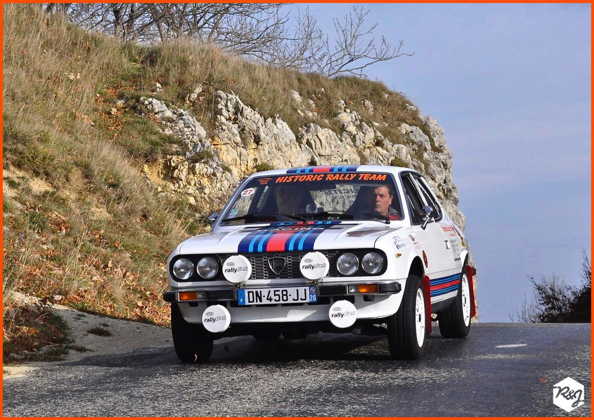 Thierry TRACOL et Pascal REYNAUD - Lancia Beta (1978)