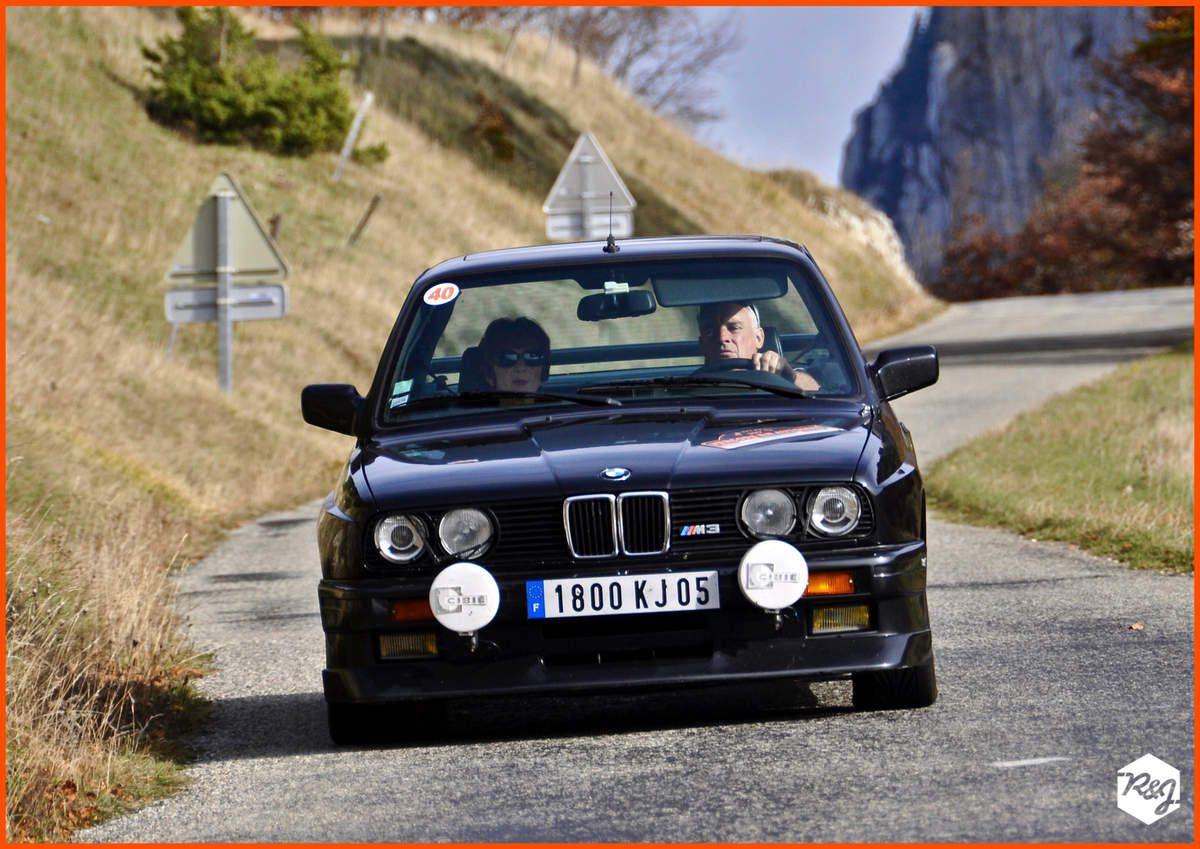 Raymond DURAND et Agnès LEQUIN - BMW E30 (1987)