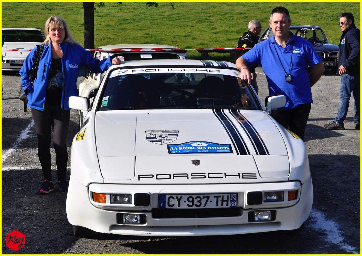 Michel CARRET - Annabelle RAYAS - Porsche 944 - Régularité