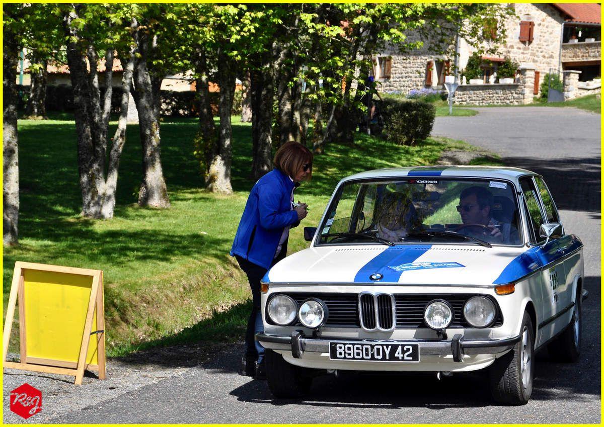 Philippe et Nathalie GODONIER - BMW 1602 - Régularité