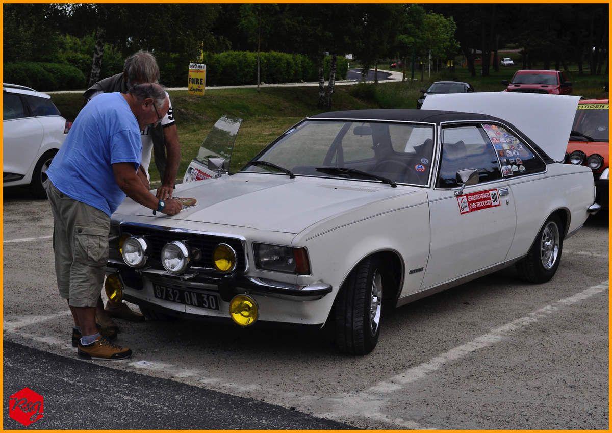 Gilbert DALVERNY - Jean Luc LUCHEZ (Opel Commodore GSE de 1973)