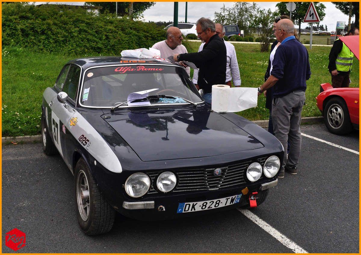 Mathias WAUQUIER - Pierre de SAINT VIANCE (Alfa Romeo GTV de 1971)