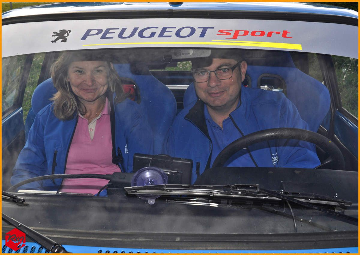 Laurent VASSAL et Christelle BARBIER (Peugeot 104 ZS de 1979)