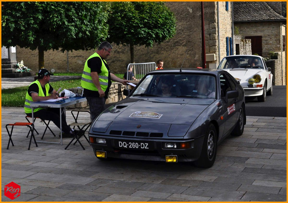 Georges et Lydie LAURET (Porsche 924 Turbo de 1980)