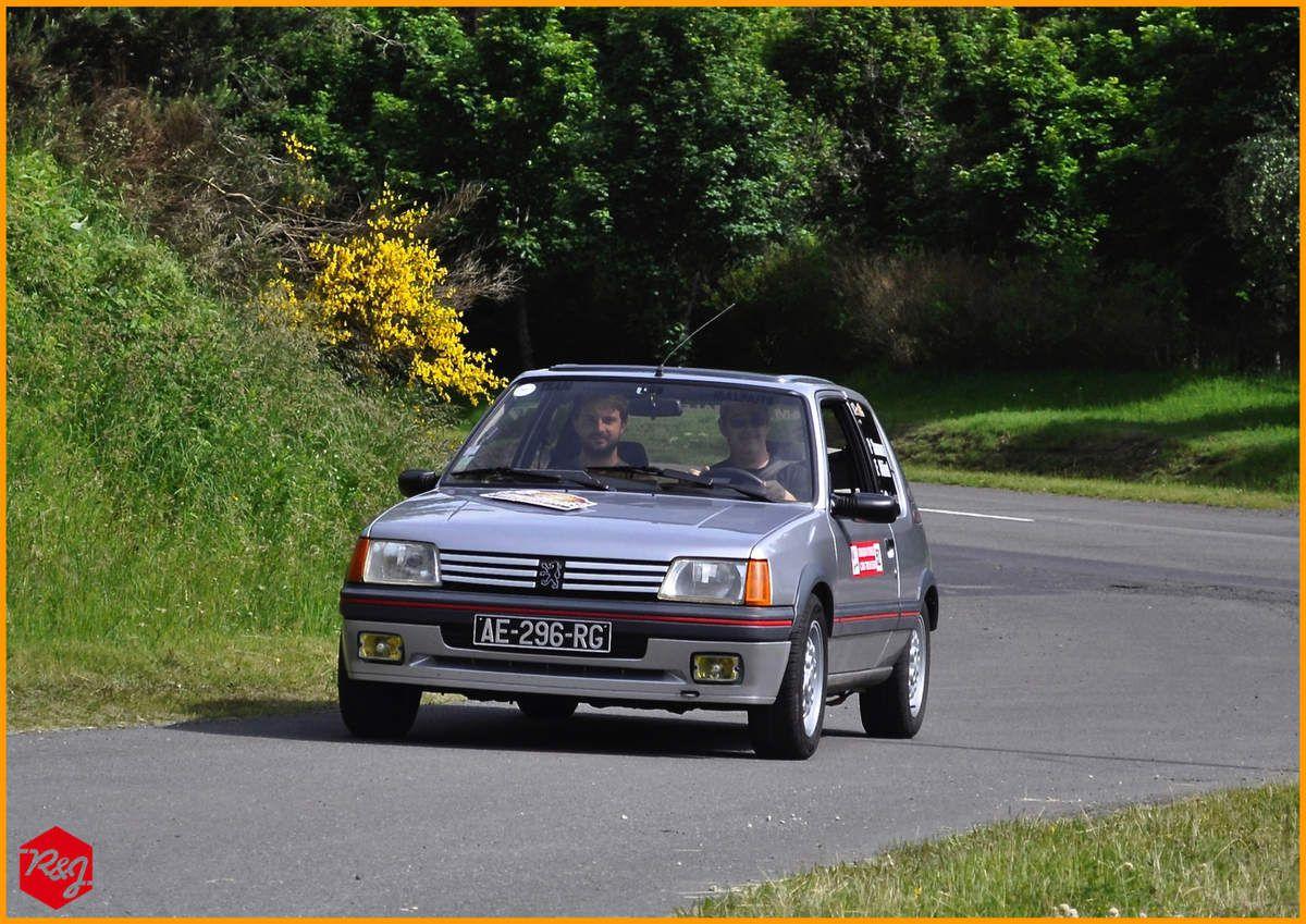 Patrick SAUVAIRE et Etienne ALBINET (Peugeot 205 GTI de 1988)