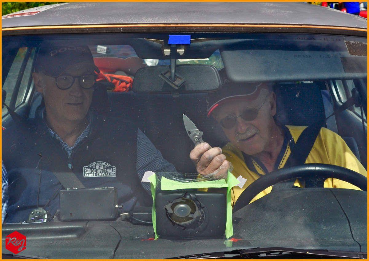 Didier VIGNAL et Michel ABATTU (BMW 325i de 1987)