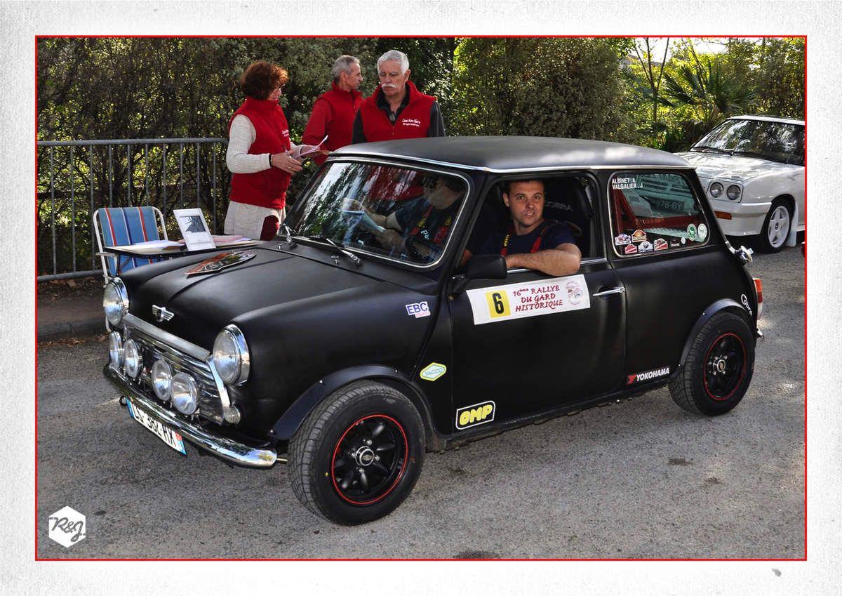 """Un Gard Historique sans un équipage du Team Les Malfaits"""" sur le podium ça n'existe pas ! Antoine ALBINET et Jérôme VALGALIER (Mini Mayfair) monteront sur la 3ème marche"""