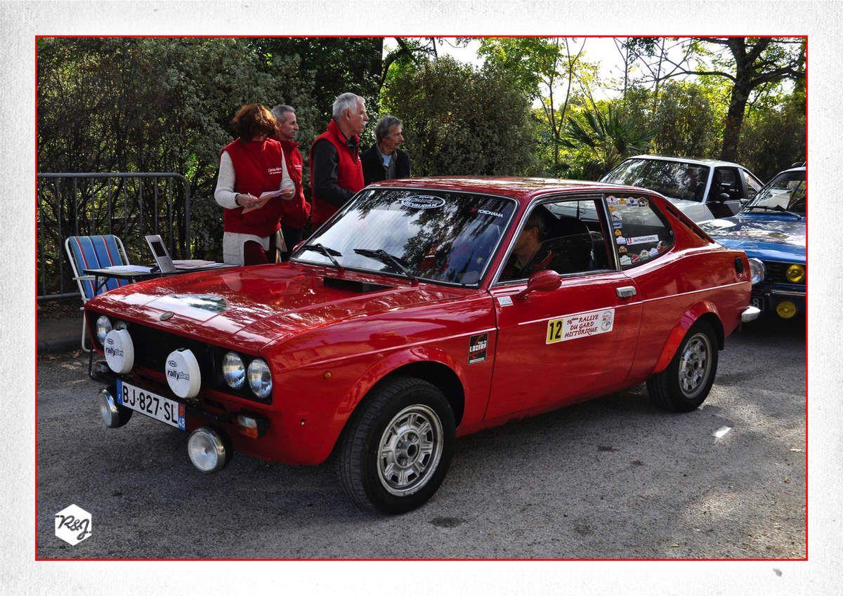 Jean-François GASTAL et Jean-Pierre REVERSAT (Fiat 128 SL)
