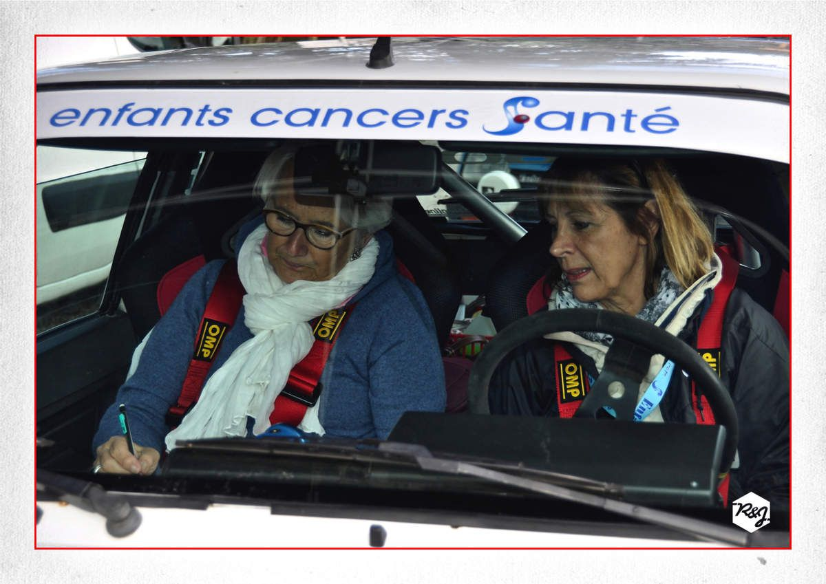 16ème Rallye du Gard Historique 2018 vu du baquet de droite