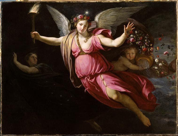 Aurora, die Göttin der Morgenröte  -  Bildnis von Jean Baptiste de Champaigne