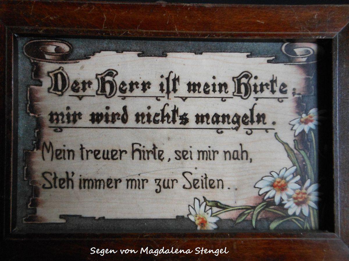 Segen von Magdalena Stengel