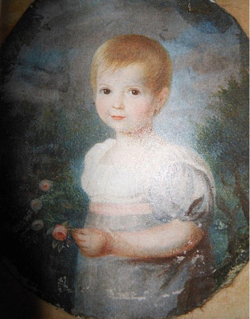 Bildnis von Henriette Magdalena Roßtäuscher von Christian Roßtäuscher