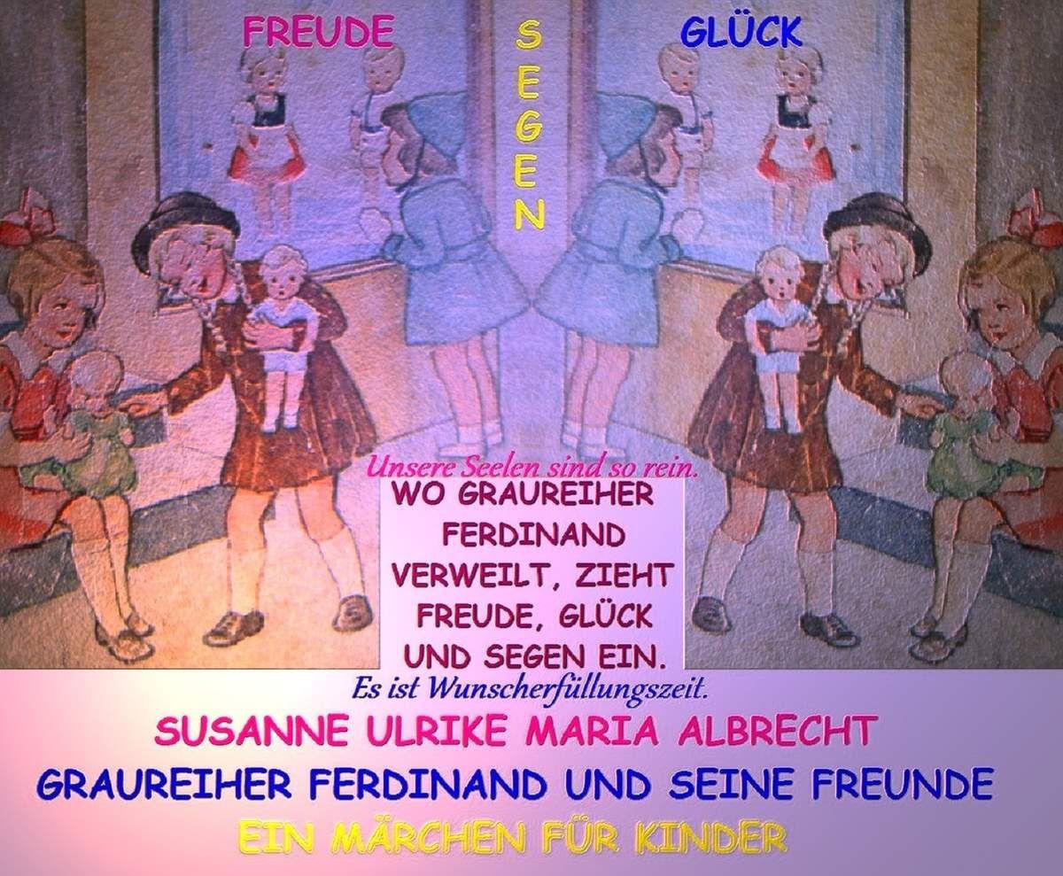 Graureiher Ferdinand und seine Freunde