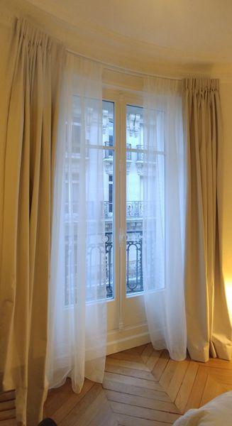 Tringle Cintrée Pour Fenêtre Parisienne Arrondie Latelier Cdéco