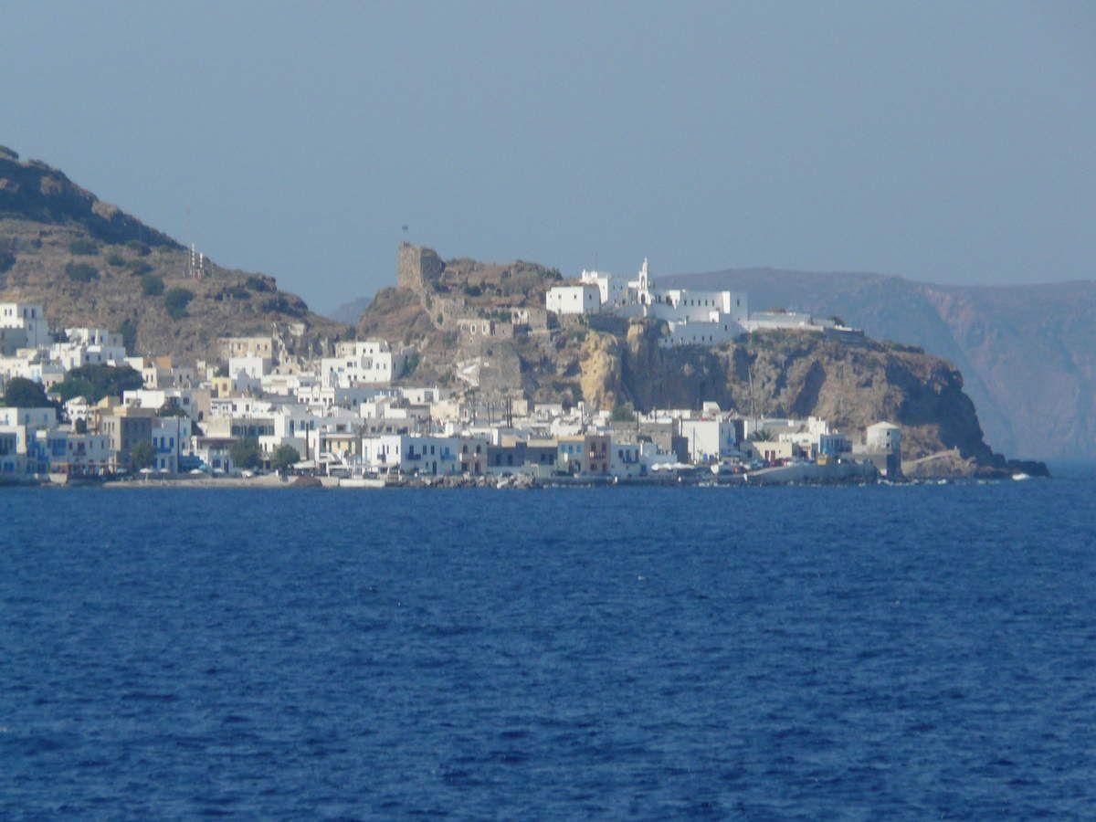 L' arrivée à Nisyros