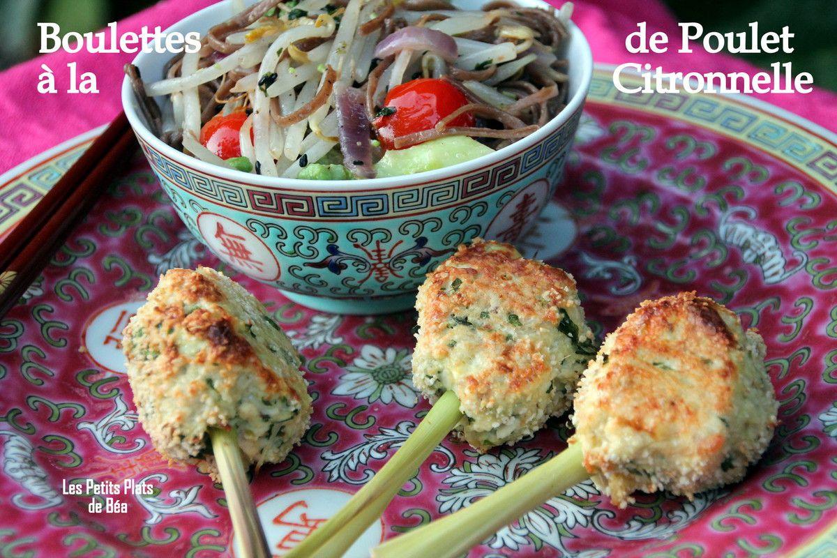 Boulettes de poulet à la citronnelle - Vietnam (4) Mui Ne