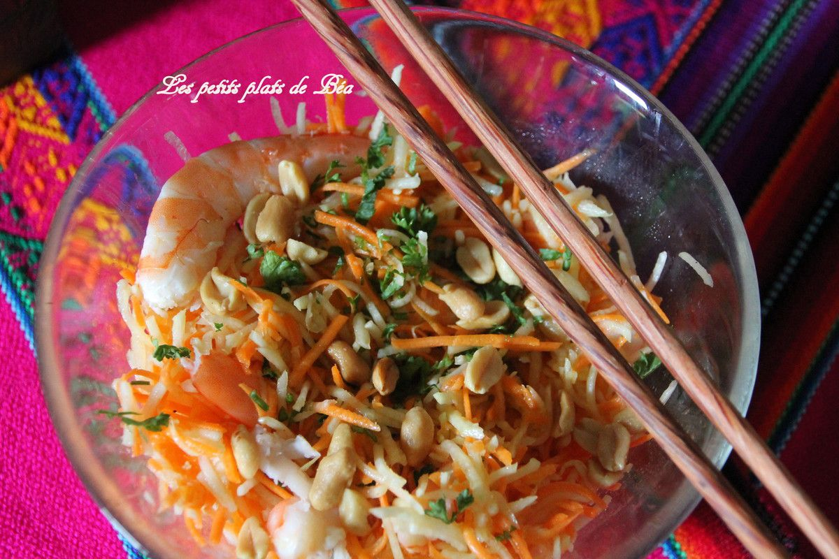 Salade de papaye verte - Vietnam (8) Balade sur le Mekong