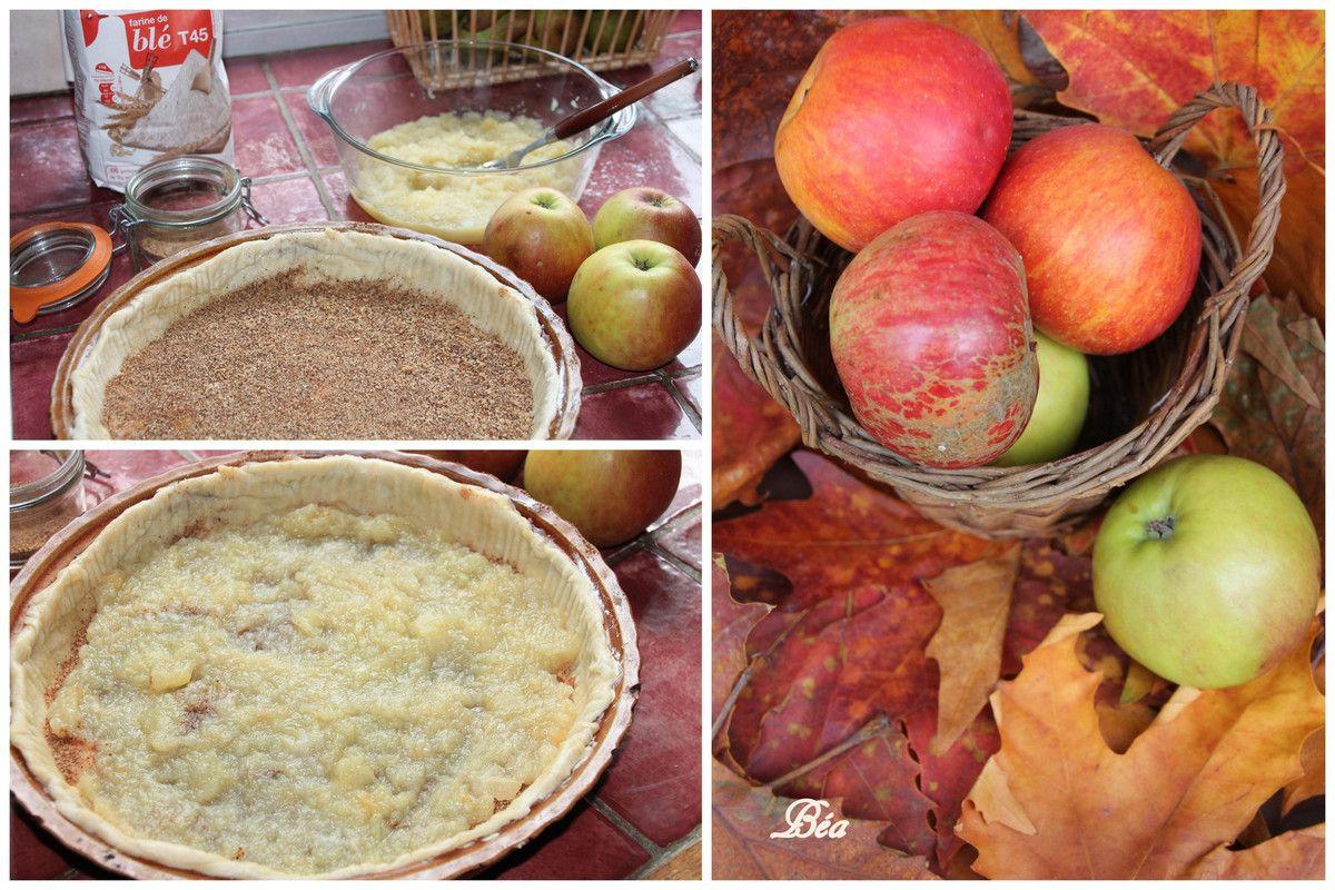 La tarte aux pommes de ma grand mère