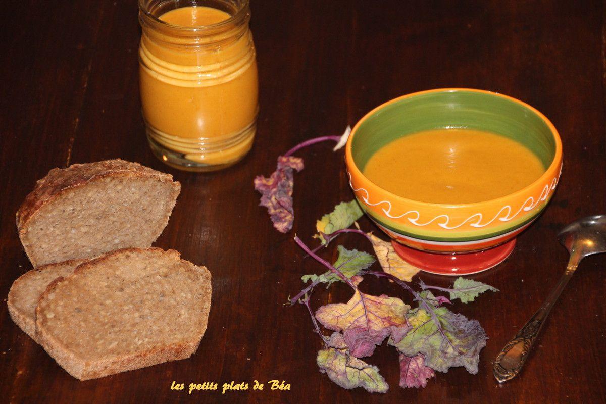 Velouté choux raves carottes