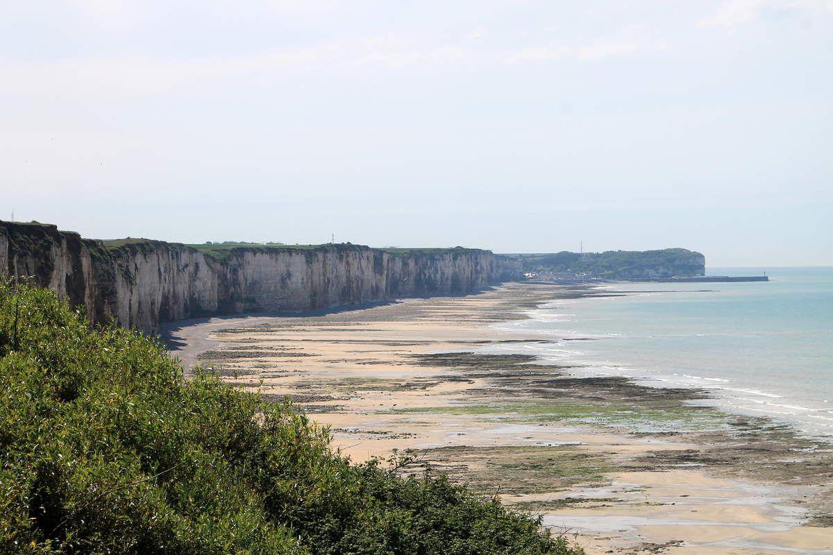 Galette à la normande : poireau camembert - Normandie (3) Veules les Roses