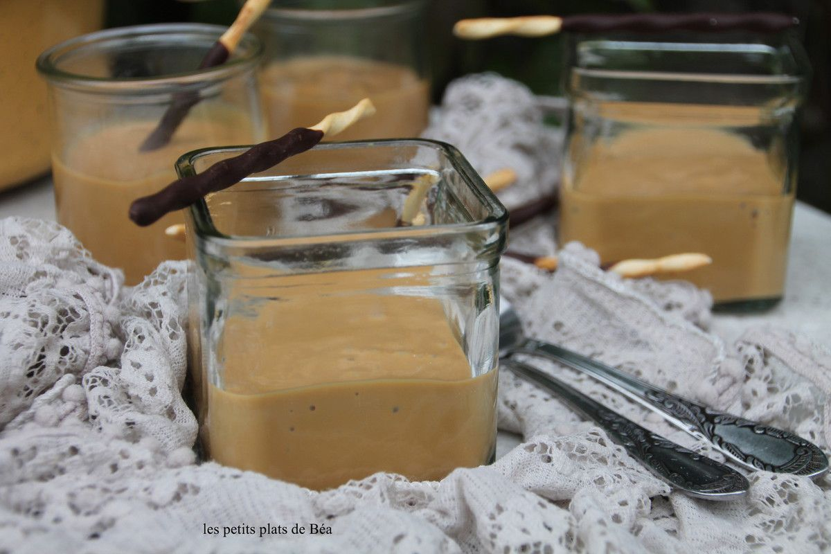 Vla au café caramélisé - Pays Bas
