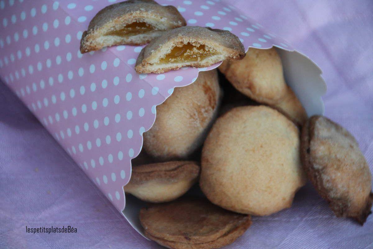 Biscuits fourrés au lemon curd