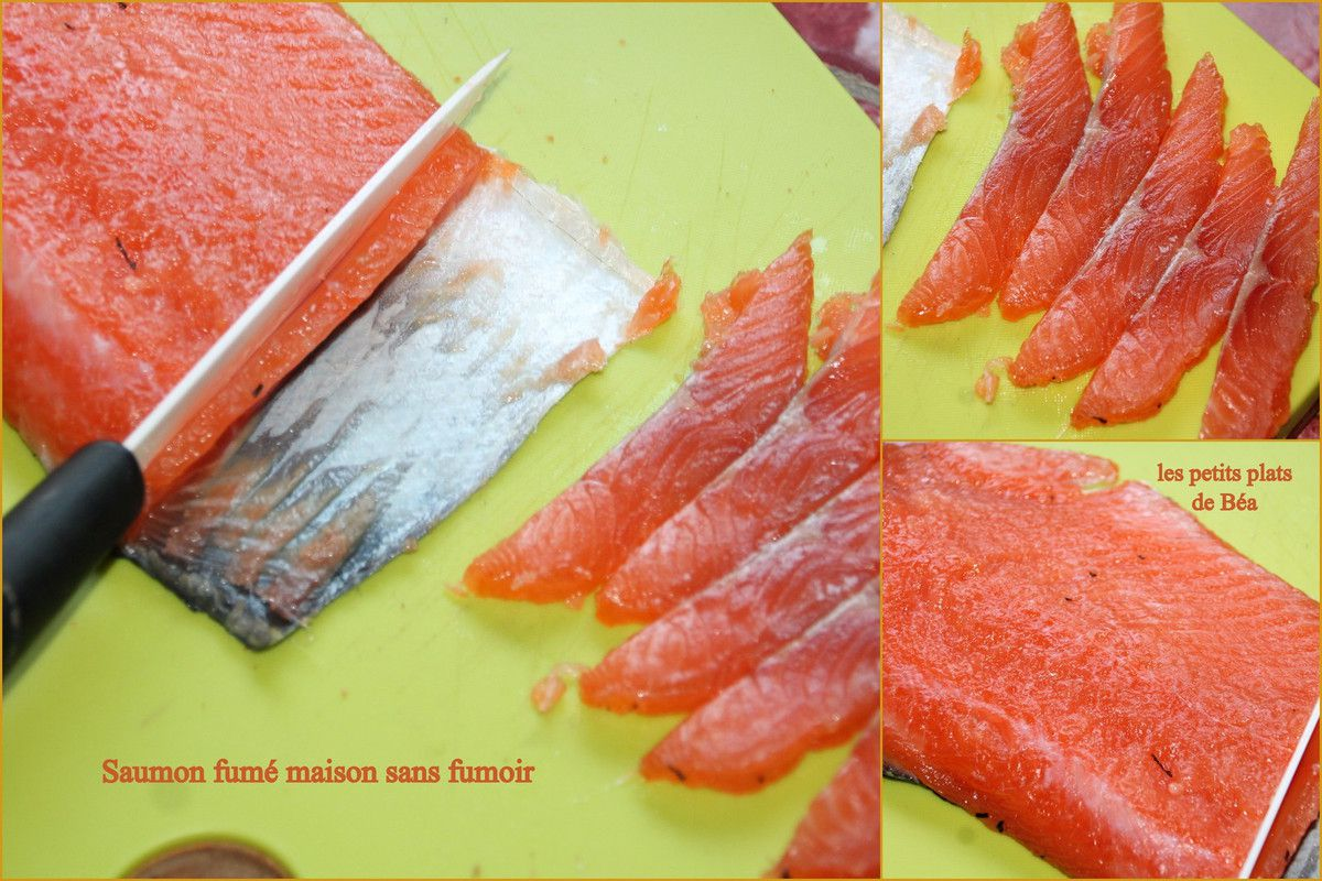 Saumon gravlax aux betteraves rouges