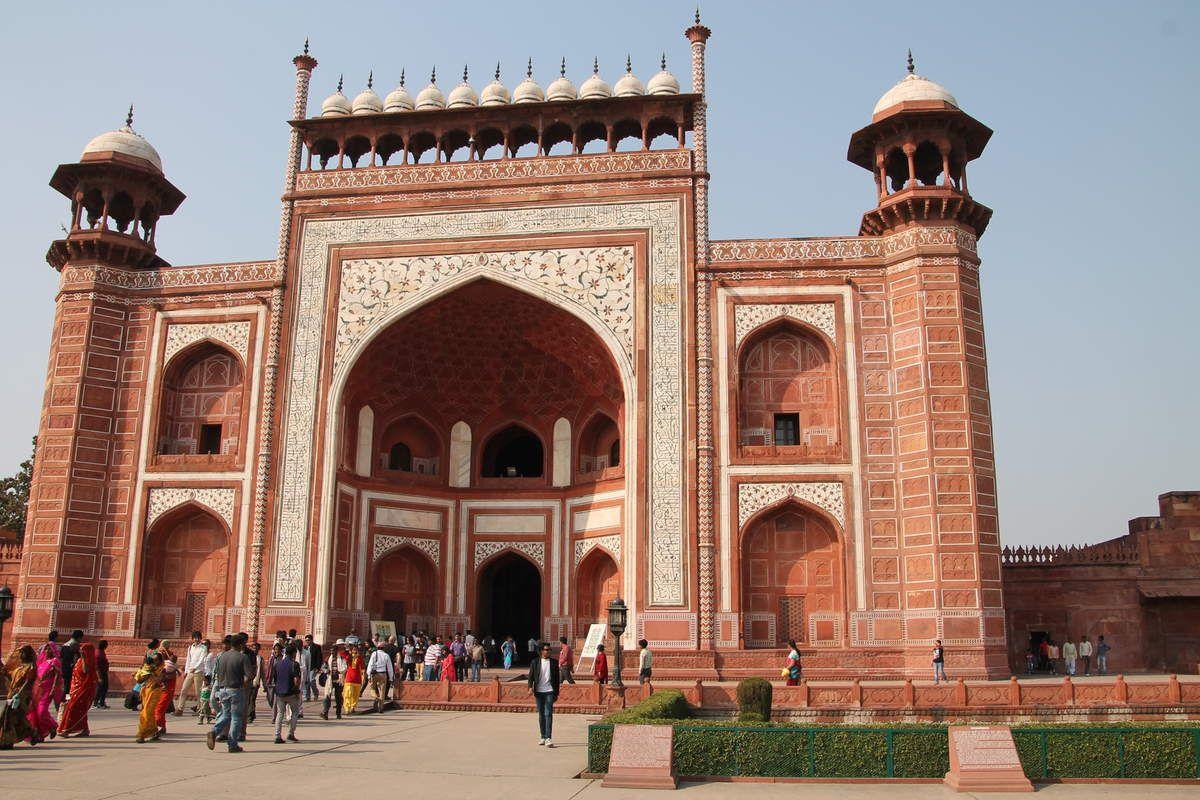 Galettes indiennes à la christophine et à la carotte - Inde du Nord (3) le Taj Mahal