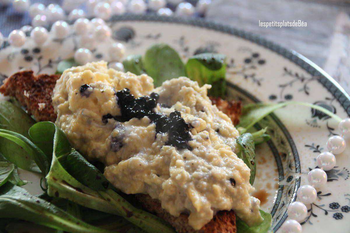 Brouillade au caviar norvégien