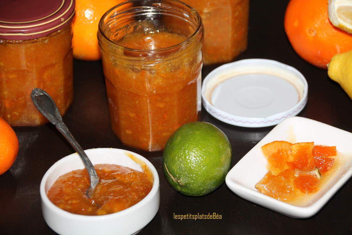 Marmelade aux 6 agrumes