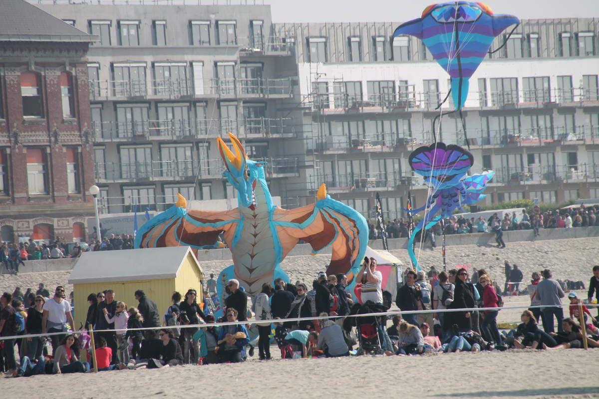 Le festival des cerfs-volants à Berck