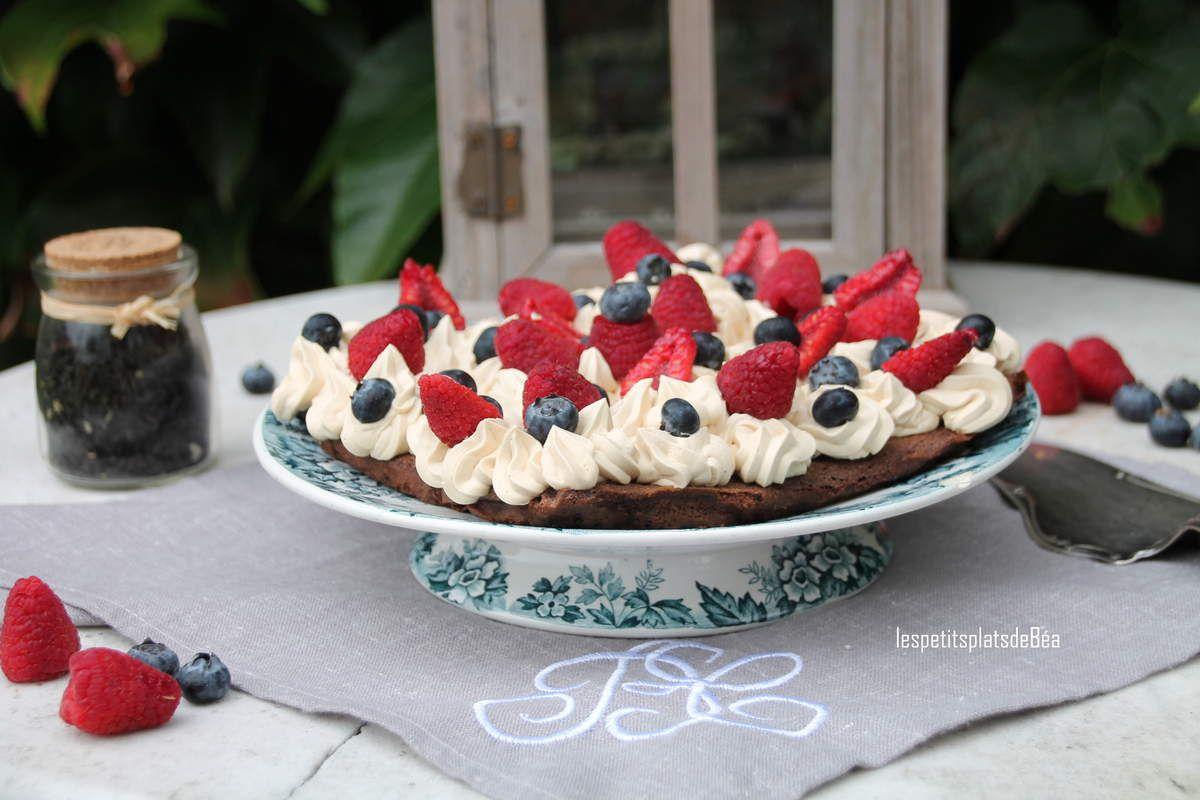 Cake au thé aux fruits rouges