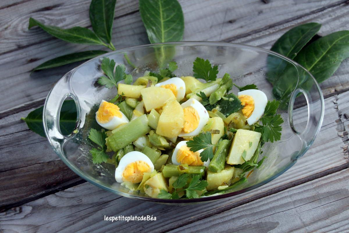 Salade de poireaux
