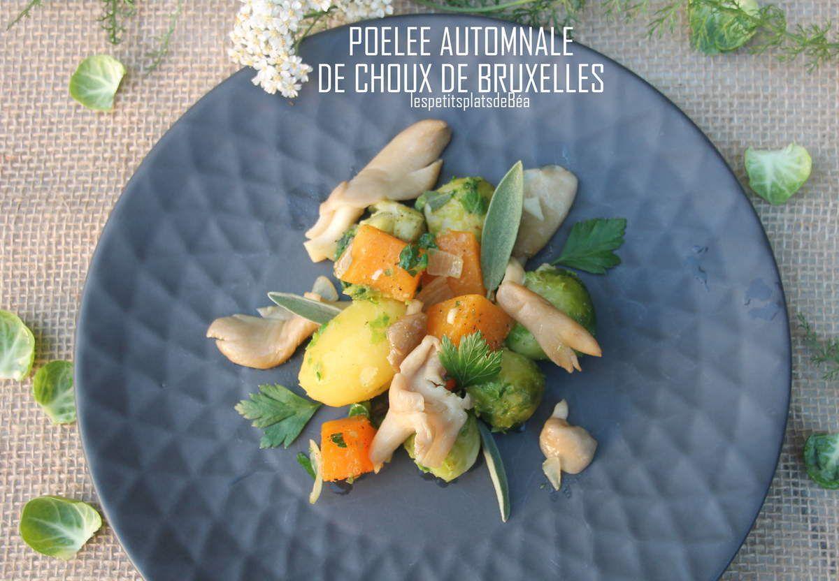 POELEE AUTOMNALE DE CHOUX DE BRUXELLES