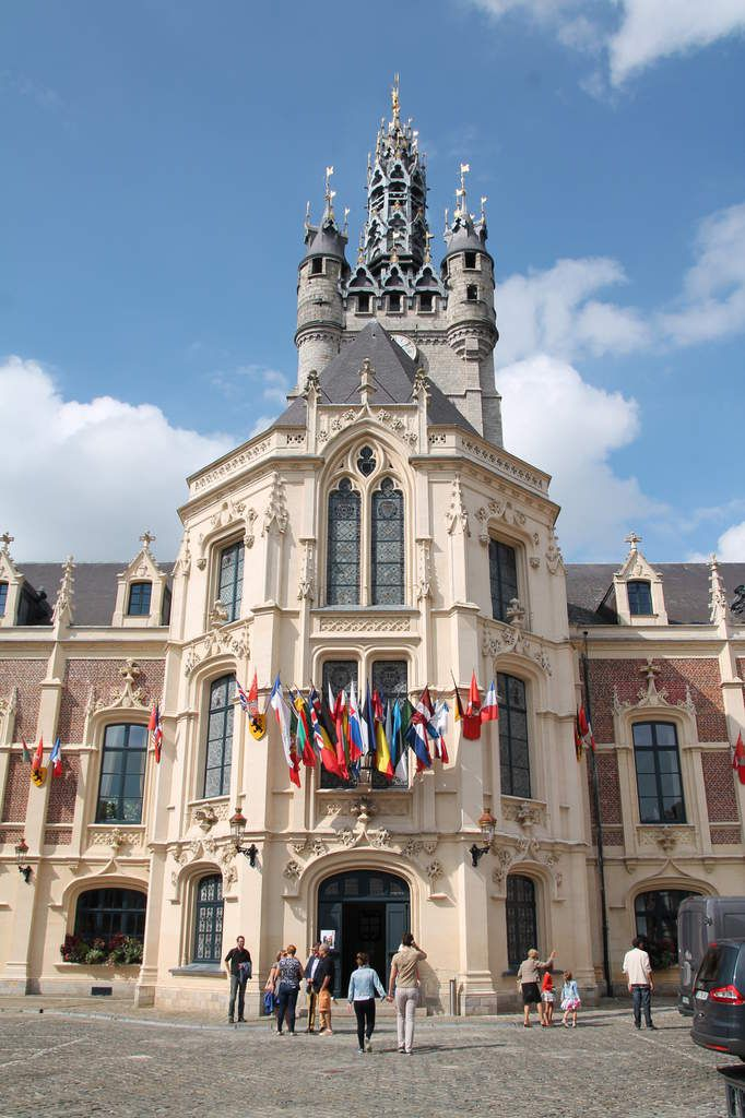 CRUMBLE DE CHOU FLEUR AU MAROILLES ET AUX NOIX - ,Balade à Douai