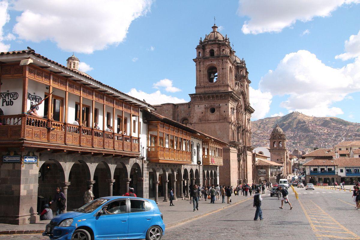 la place d'Armes de Cusco